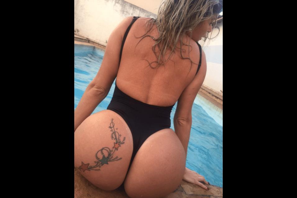 24.jul.2017 -  Hellen Cristyan, representante do Maranhão