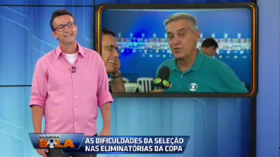 """21.mar.2016 - O repórter esportivo Mauro Naves, da TV Globo, apareceu ao vivo no programa """"Os Donos da Bola"""", apresentado por Neto, da Bandeirantes, e esclareceu um """"mal entendido"""" gerado após um vídeo em que Mauro aparece xingando o ex-craque do Corinthians e hoje apresentador. """"Houve um exagero, em momento algum eu tava te xingando, eu sei que tá tudo bem"""", se explicou Mauro, ao que Neto respondeu: """"Eu sei, eu sei"""". No vídeo, que viralizou na web na época do Carnaval, o repórter aparece em um barco convidando as pessoas a assistir ao """"Globo Esporte"""". """"Assista mais é TV Globo, f?-se o Neto da Bandeirantes e o caraca"""", disiparou. Em suas redes sociais, Neto repercutiu o vídeo. """"Aí, grande Mauro Naves, gente fina, obrigado pela moral. Continue assim?"""", ironizou"""