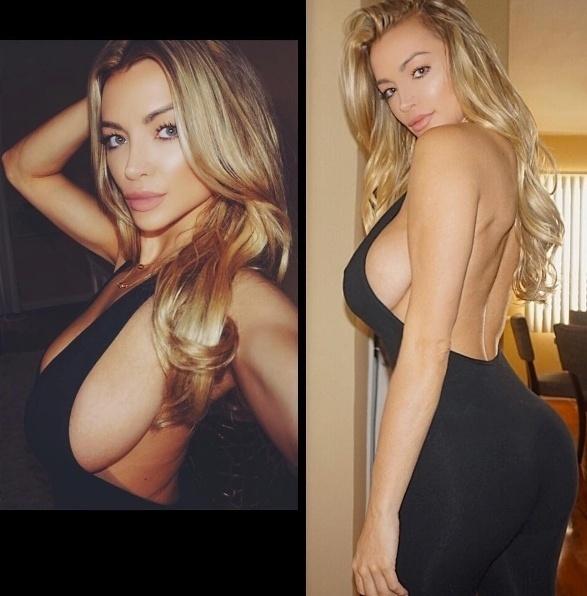 """3.mai.2016 - A bela sempre publica imagens sensuais e recebe diversos elogios. """"Sexy"""", disparou um dos fãs nos comentários de Lindsey Pelas"""