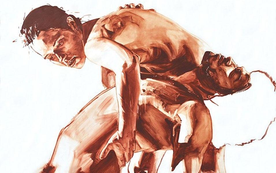 28.jul.2016 - Romance e paixão são temas constantes nos trabalhos do pintor Patrick Earl Hammie