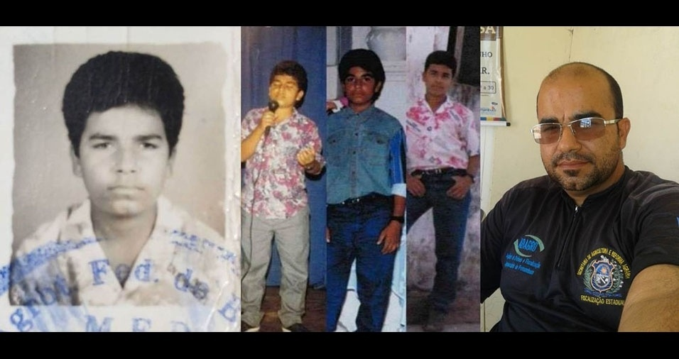 Erivaldo Fagundes, de Manari (PE), conta que tinha 15 anos em 1996 e mostra sua primeira foto 3X4, ainda em branco e preto
