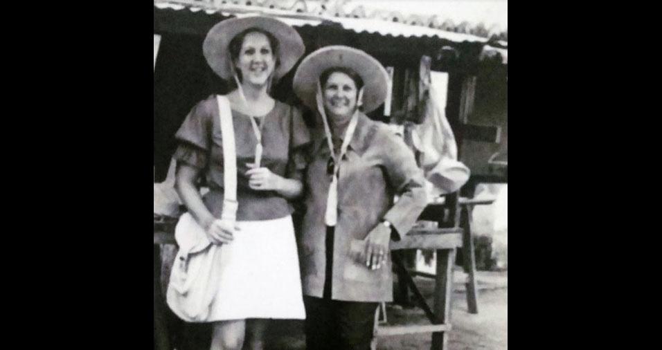 """Nelice Ferreira Moura, de São Paulo (SP), homenageia a mãe Yolanda: """"Mãe, onde estiveres, receba minha homenagem sincera e saudosa. Sempre te amarei"""""""