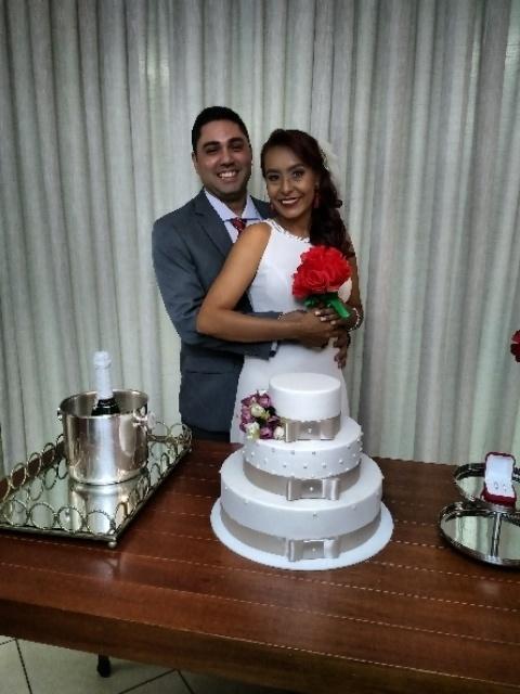 Elson Ricardo Barbosa e Elizangela Felicia, casaram-se no dia 19 de julho de 2017, em Porto Velho (RO)