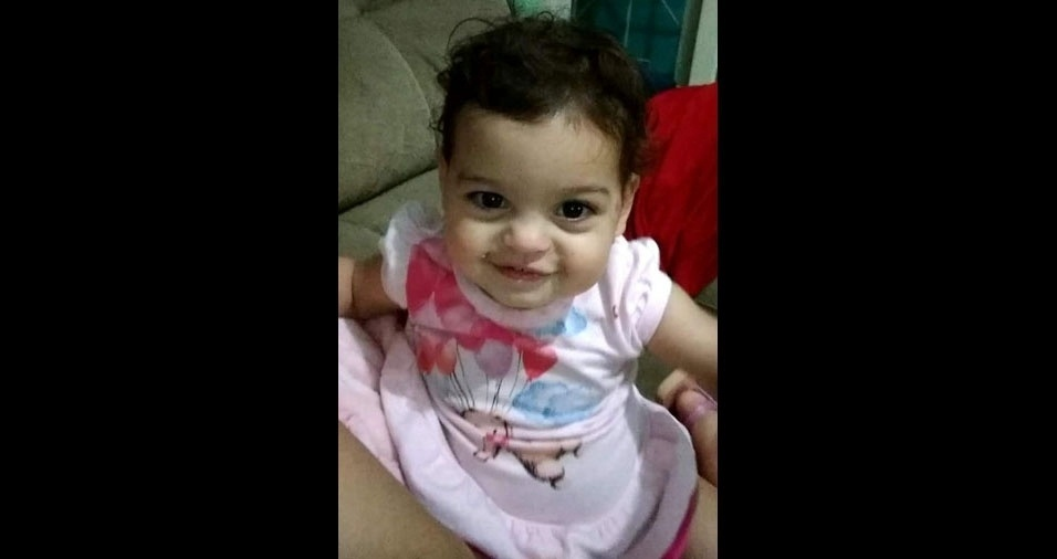 Adriana enviou foto da filha Giovanna