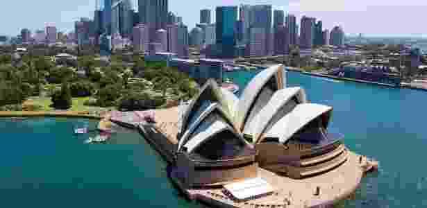 Milan queria ir para esta Sydney aqui - Reprodução/Condê Nast Traveler