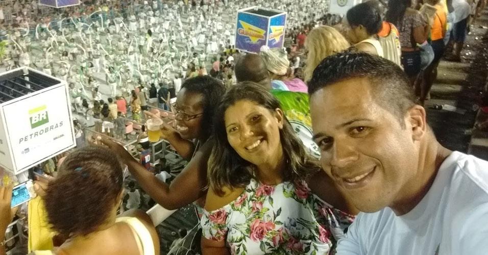 Patricia Bueno e Anderson Santos, curtiram o Carnaval do Rio e de São Paulo em 2016