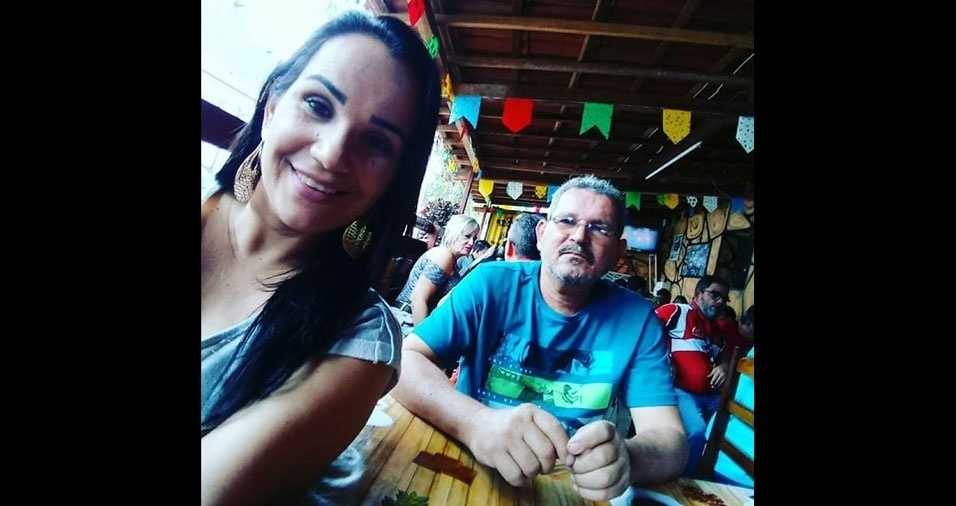 """Fernanda Farias, de Serra Branca (PB), declara seu """"amor incondicional"""" pelo pai Fernando Farias"""