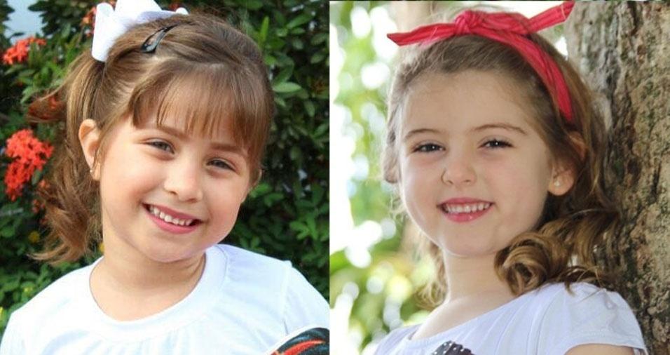 """Jovane Ferreira Cutrim, de São Luís (MA), enviou foto da filha Maria Tereza Cutrim e diz que ela se """"parece com Lorena Queiróz, a Dulce Maria de 'Carinha de Anjo'"""""""