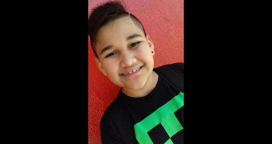 Carol Almeida enviou foto do filho Bryan. Eles moram em Alvorada (RS)
