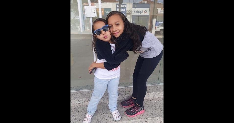 Welbster Marlon, de Presidente Epitácio (SP) gostaria de homenagear as filhas Bianca e Beatriz no dia das crianças participando do Especial Dia das Crianças no BOL