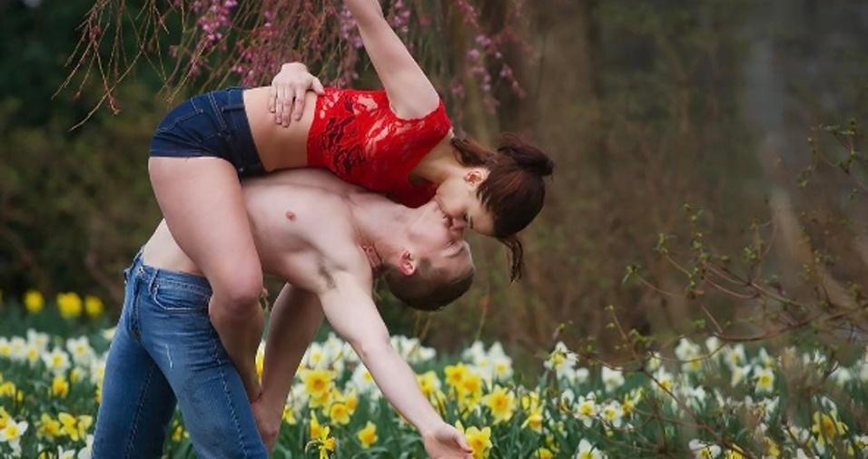 12. O trabalho do fotógrafo começou mostrando bailarinos de Nova York, mas com o tempo, passou a retratar profissionais da dança de outros lugares