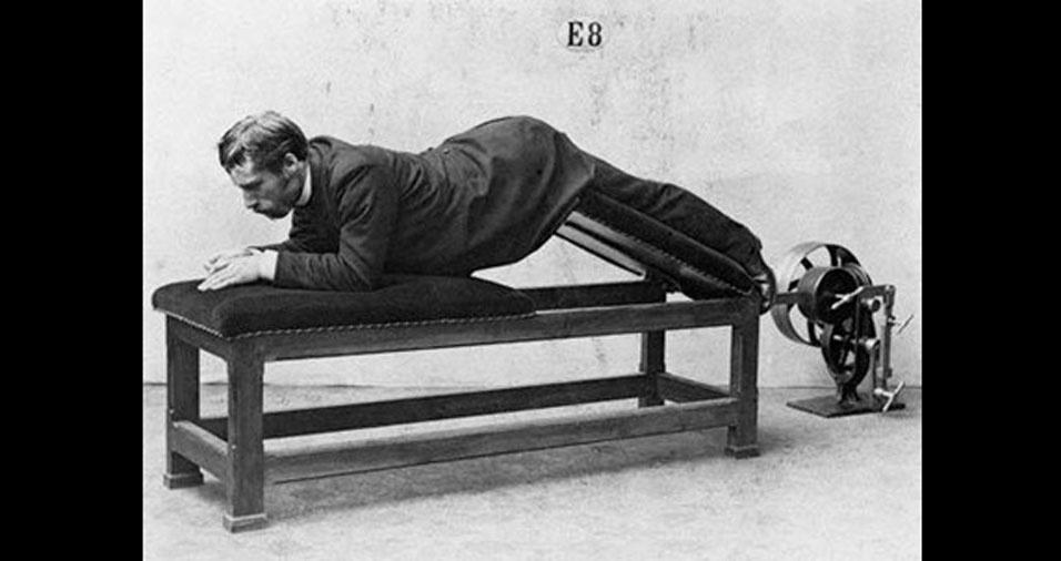 17. E, quem disse que fazer exercícios é sinônimo de  conforto?