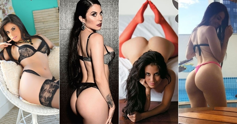 """A modelo Jéssica Amaral venceu uma votação popular promovida pela Playboy em 2012 e foi eleita a dona do """"bumbum mais bonito do Brasil"""". Em fevereiro daquele ano, exibiu seu atributo na capa da publicação masculina. Em 2013, a gata ainda desfilou seus 102 cm de popô no Miss Bumbum, conquistando o terceiro lugar no concurso. Confira a seguir mais fotos dessa gata que também já foi capa da Sexy, em janeiro de 2016"""