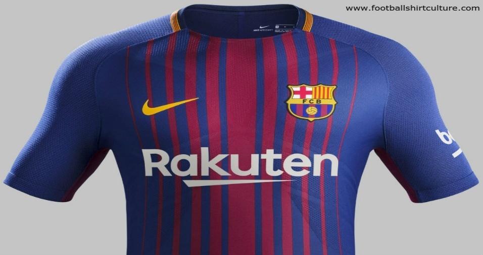 12. Barcelona - Os catalães optaram por um degradê no novo uniforme
