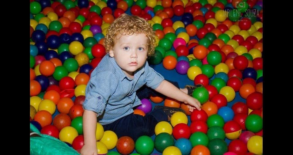 Aline, de Palmas (TO), enviou foto do filho Lucas, de três anos