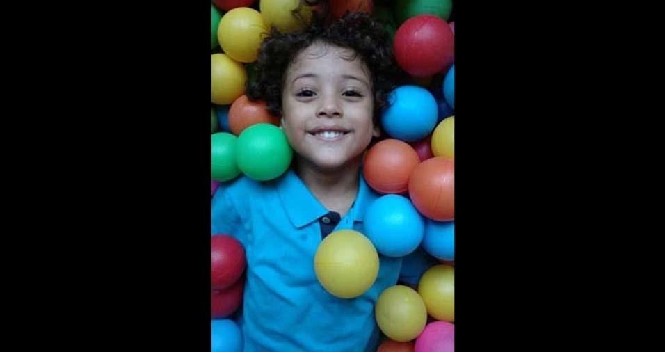 Anne Cristina, de Campo Limpo (SP), enviou foto do filho Luigi
