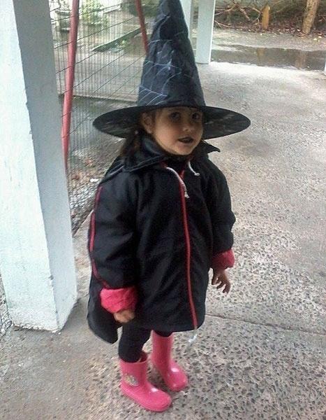 O papai Marcelo, de Canoas (RS), enviou a foto da filhinha Dafne