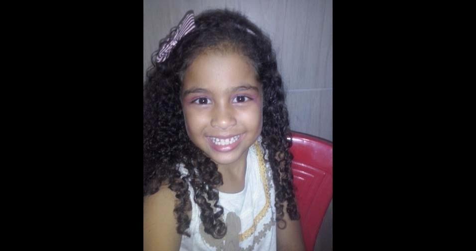 Claudemir, de Camaçari (BA), enviou foto da filha Mayara