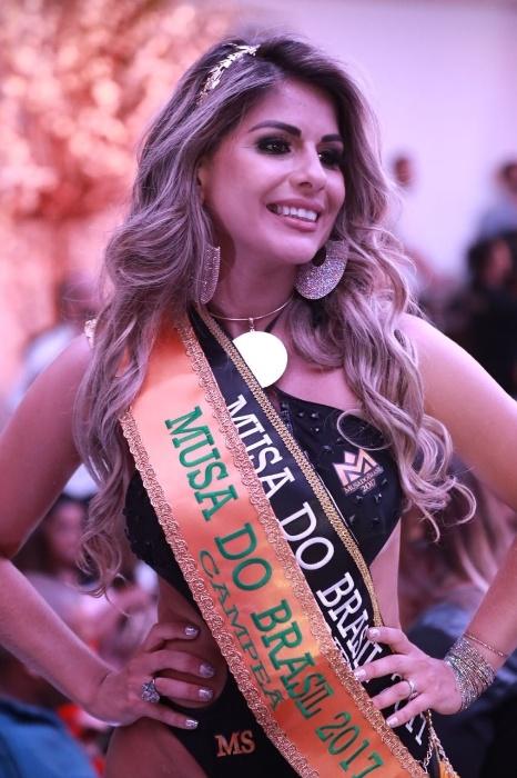 5.nov.2017 - Vanessa Perez, candidata do Mato Grosso do Sul, é eleita Musa do Brasil 2017