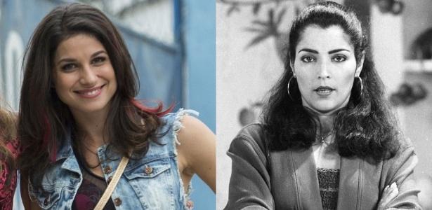 """Chandelly Braz será a vilã Carmela em """"Haja Coração"""", personagem vivido por Angelina Muniz, que se chamava Isabel, em """"Sassaricando"""", de 1987  - Divulgação/Rede Globo"""