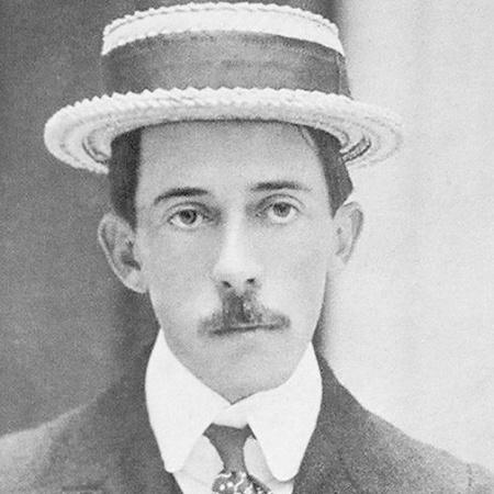 O aviador Alberto Santos Dumont - Reprodução/Museu do Amanhã