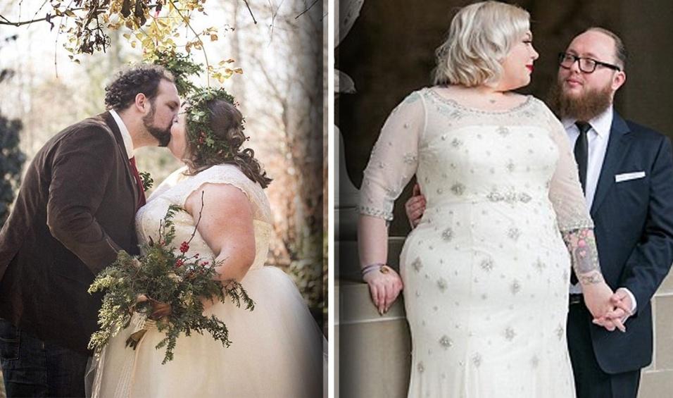 2.fev.2016 - A blogueira Lolly, de Sheffield , na Inglaterra, criou uma galeria de fotos em que mostra uma série de noivas plus size no dia mais especial de suas vidas: o casamento. As belas imagens têm o objetivo de mostrar que mulheres acima do peso também podem ter um dia perfeito como qualquer pessoa