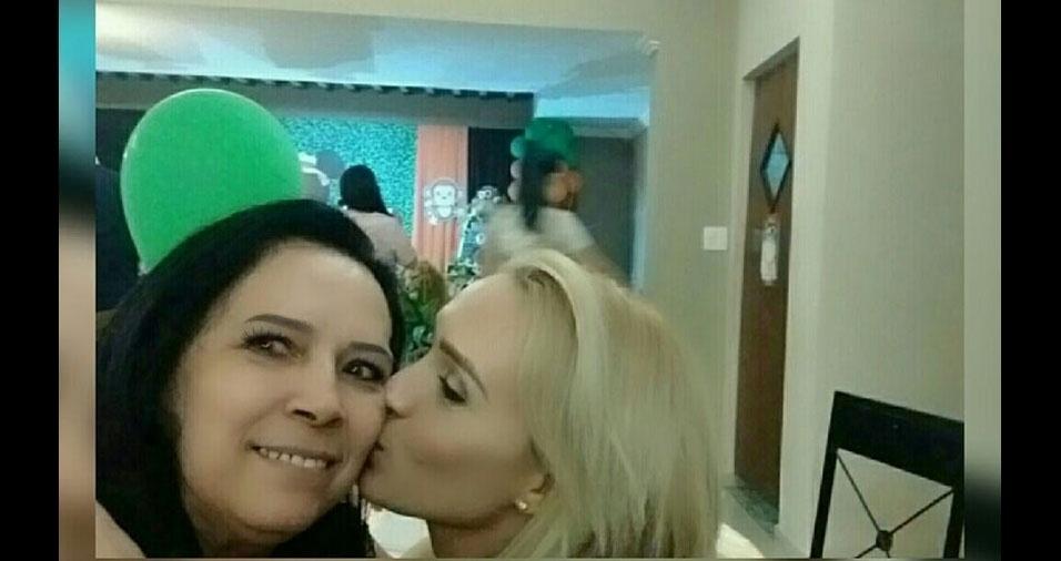 Lillian Kamilla Alves é filha da Creusa Mendes Alves, de Rio Claro (SP)