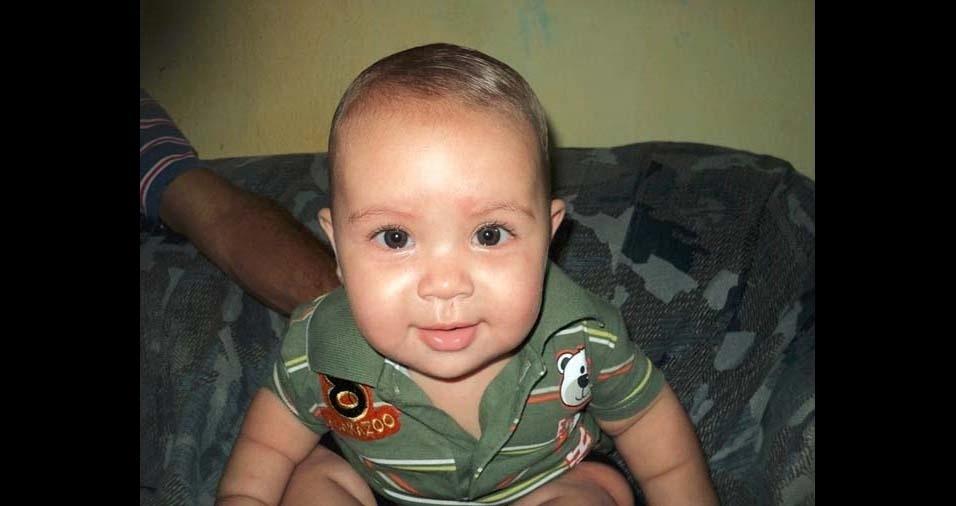 Luciana, de Recife (PE), enviou foto do filho Luiz Antonio