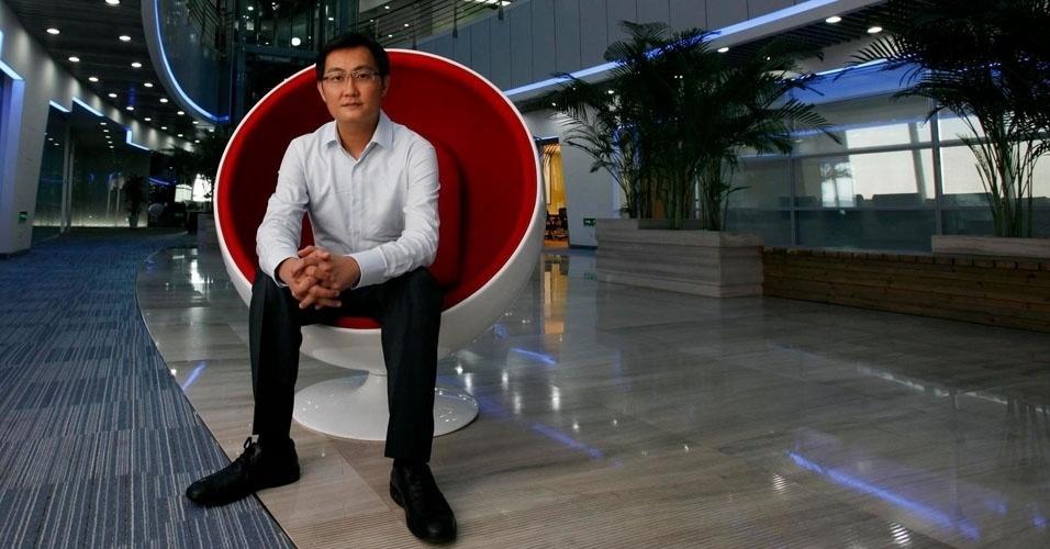 48. Ma Huateng, presidente da Tencent, uma das maiores empresas de internet da China