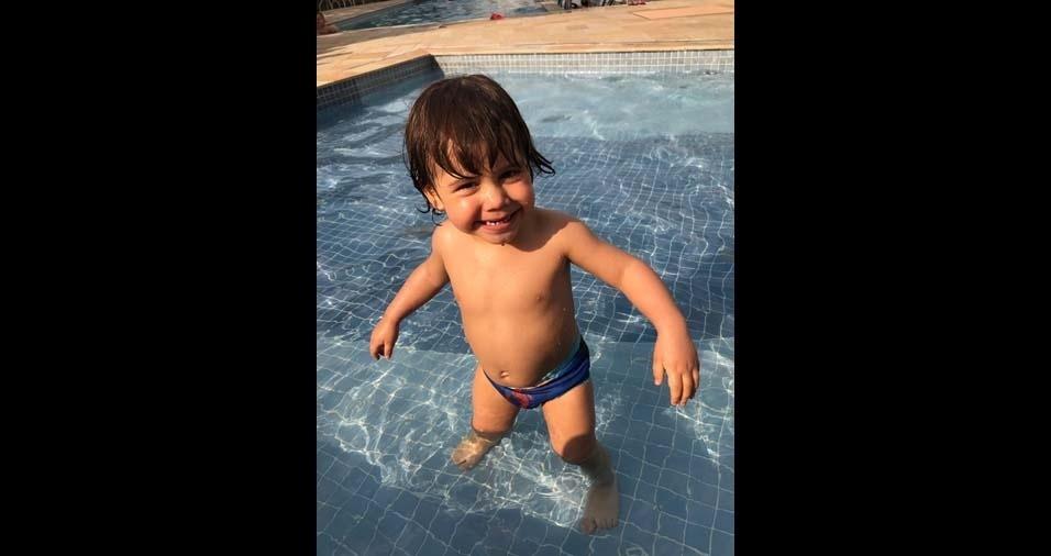 Tamiris, de São Paulo (SP), enviou a foto do filho Miguel