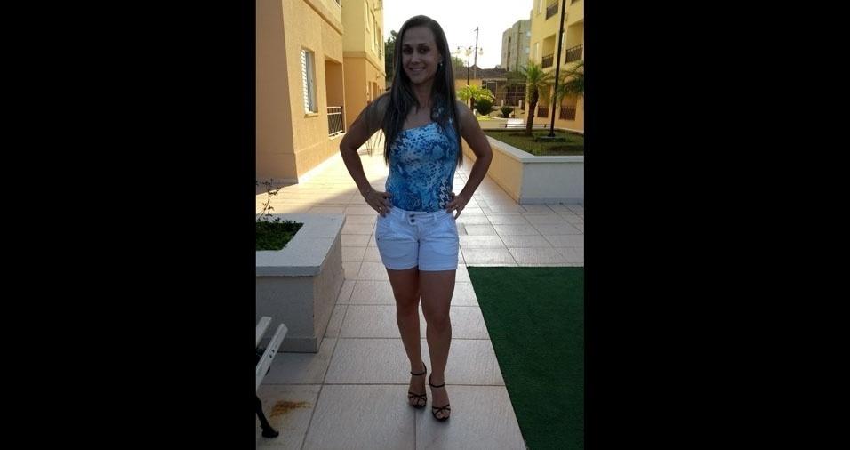 Janaína Gouveia, 31 anos, de São José dos Campos (SP)