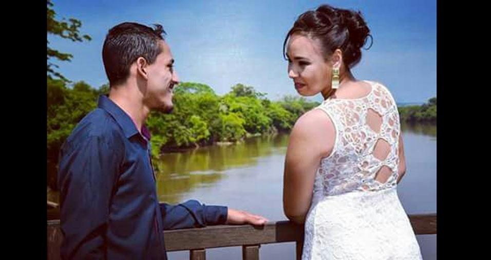 Mariana Correia e Greison Mineiro se casaram em 25 de novembro de 2016