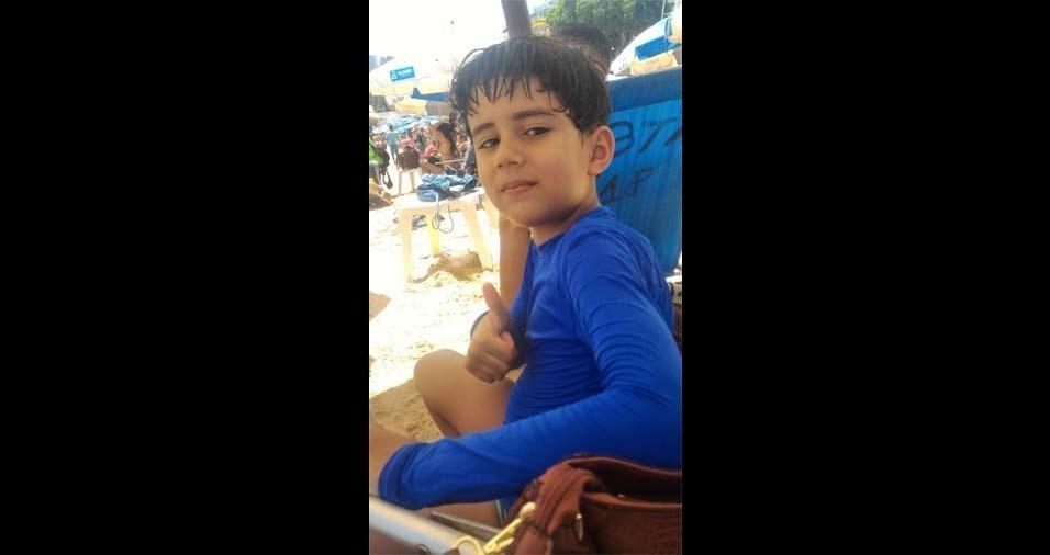 """Patrícia Santos enviou foto do filho Marcelo, de Castro Alves (BA): """"Nem todo anjo tem asas, as vezes ele tem apenas o dom de te fazer sorrir"""""""