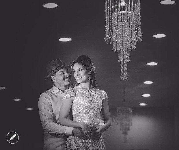 28.jul.2016 - Festa de casamento de Safadão e Thyane deve acontecer nesta segunda-feira (1/7), em Fortaleza (CE). A cerimônia será íntima, reservada aos amigos e familiares dos apaixonados