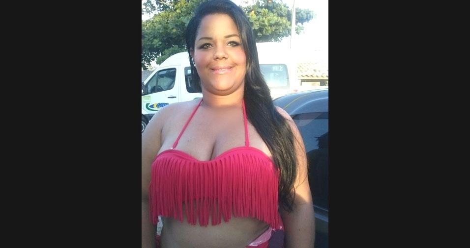 Victoria Santos, conhecida como Marica, de 22 anos