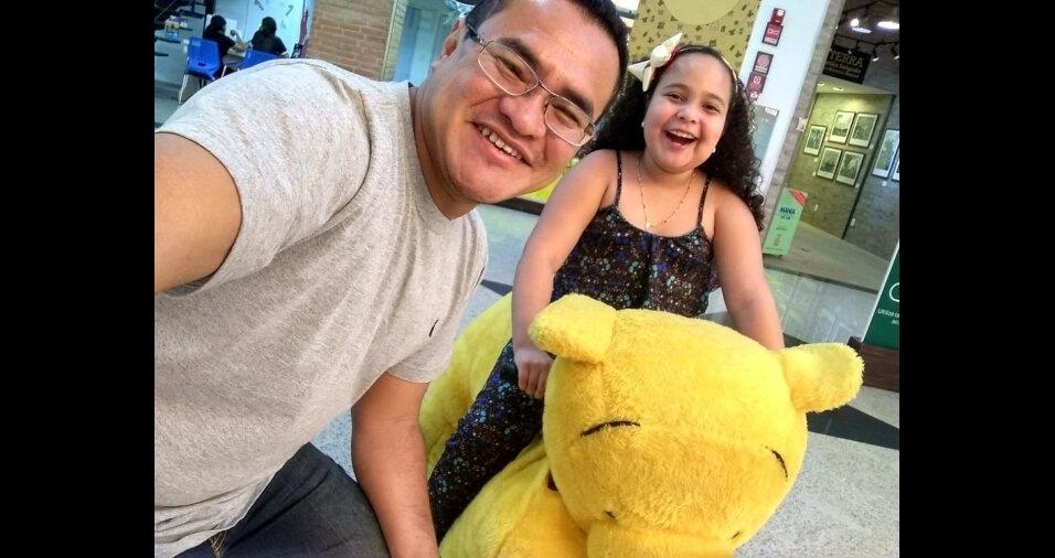 Esta é a Larissa Bianca, de Manaus (AM), filha do Mauro Solimões