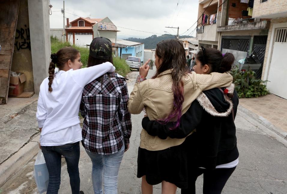 """O projeto """"A construção da identidade"""" fez com que alunos se aproximassem e ficassem mais unidos"""