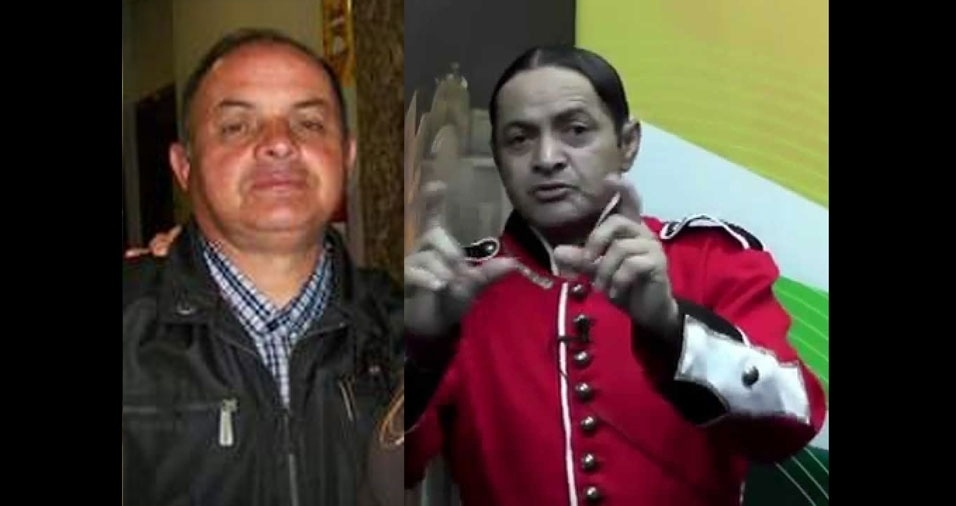 """Vilmar Teixeira Borges, de Guaíba (RS), se acha parecido com o Faxinildo, personagem do """"Programa do Ratinho"""""""