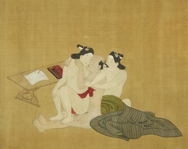 13.abr.2016 - Como as relações interpessoais ainda eram moldadas de forma conservadora, com a maioria dos casamentos sendo arranjados pelas famílias, restava aos japoneses dar um jeito para liberar suas fantasias. A opção mais acessível era a arte erótica, conhecida como shunga