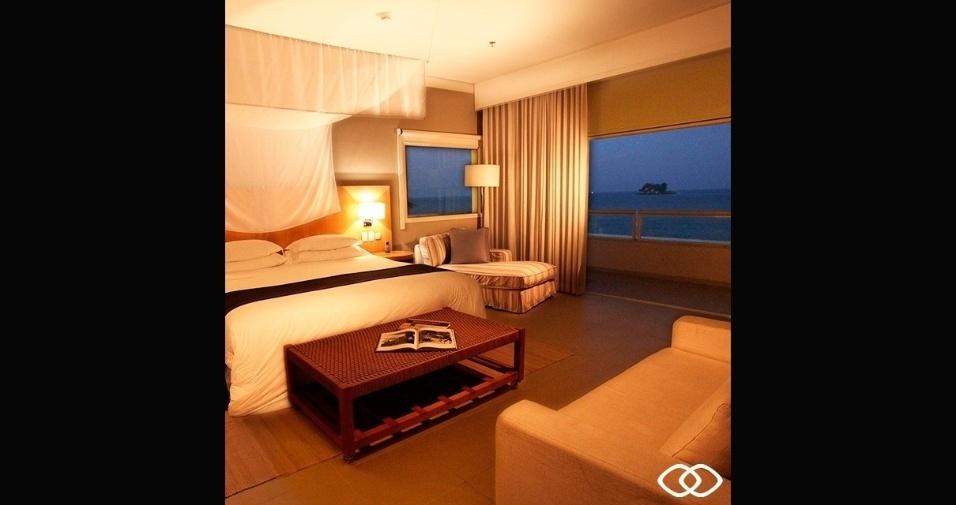 Imagem de outro dormitório do hotel
