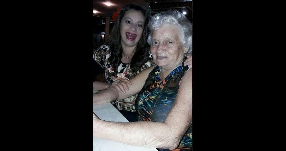 """Ângela, de Rio Branco (AC), quer homenagear a mãe Cosma, que """"é uma guerreira e criou quatro filhos sozinha"""""""