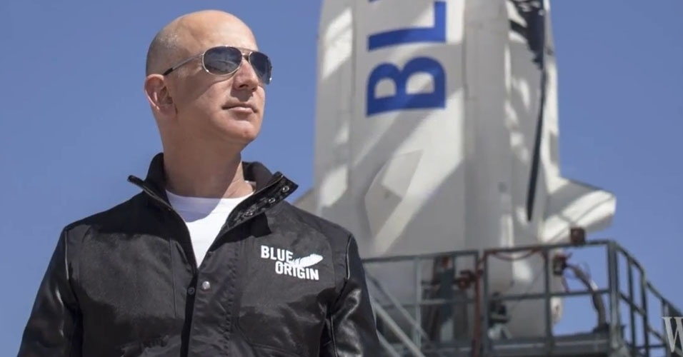 17. Jeff Bezos, fundador e presidente da Amazon