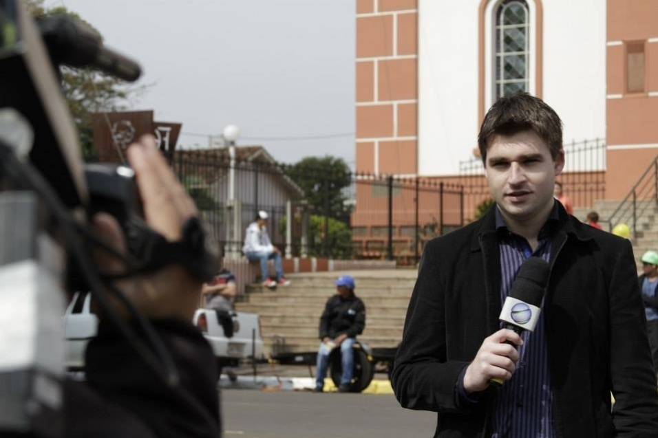 Renan Agnolin, 27 anos, era repórter da Rádio Oeste Capital e atuava exclusivamente em jogos da Chapecoense