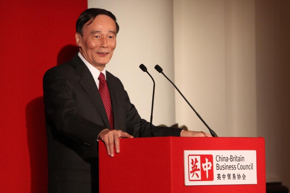 Categoria Líderes: Wang Qishan, secretário do Comitê Central para Inspeção Disciplinar da China