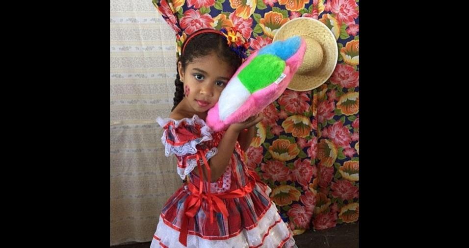 Hugo Fernandes Alves da Silva é o pai da Júlia, de quatro anos, Eles moram em Olinda (PE)