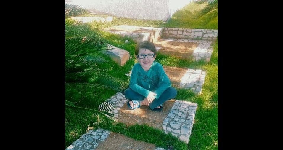 Arthur é filho do Rômulo e da Juliana, de Assis (SP)