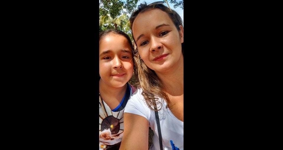Mamãe Daniela com a filha Sofia, de Rio Claro (SP)