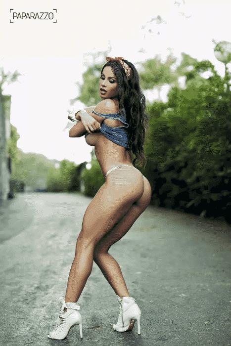 3.jul.2015 - Fernanda D'avila mostrou excelente forma em um ensaio sensual realizado na zona norte do Rio de Janeiro - Marcos Serra Lima / Paparazzo