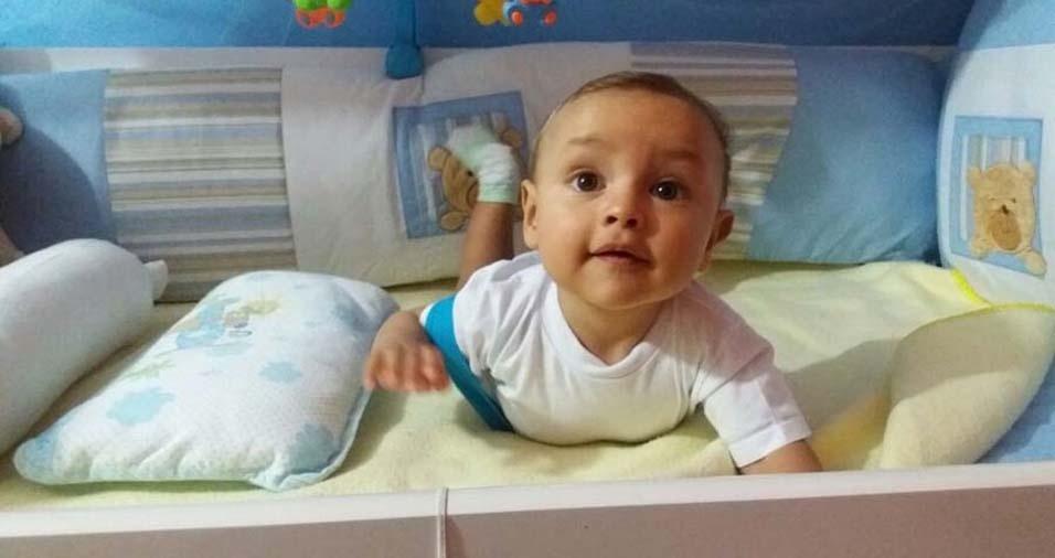 Sandra enviou a foto do Miguel, de São Paulo (SP)