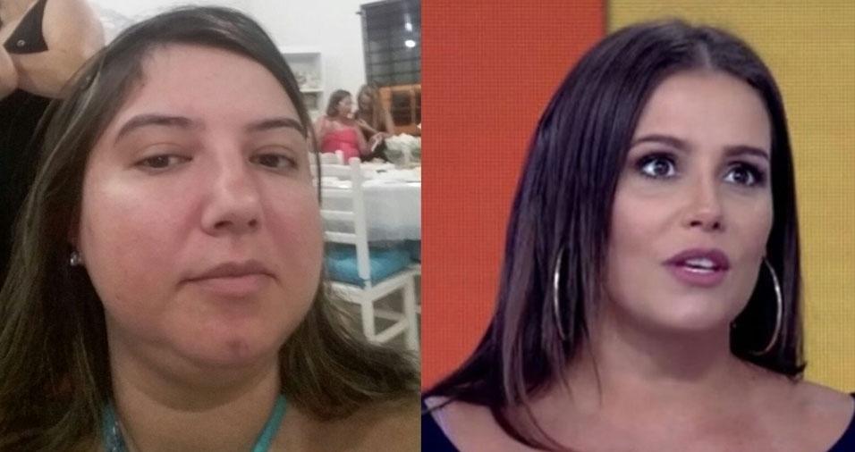 "Barbara Garbelotti Pepino, de São Carlos (SP), se diz ""sósia da Deborah Secco"""
